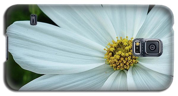 The Heart Of The Daisy Galaxy S5 Case by Monte Stevens