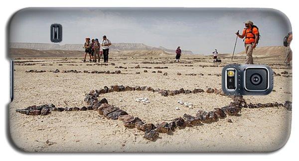The Heart Of The Desert Galaxy S5 Case by Yoel Koskas