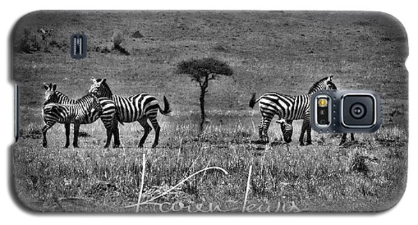 Galaxy S5 Case featuring the photograph The Herd by Karen Lewis