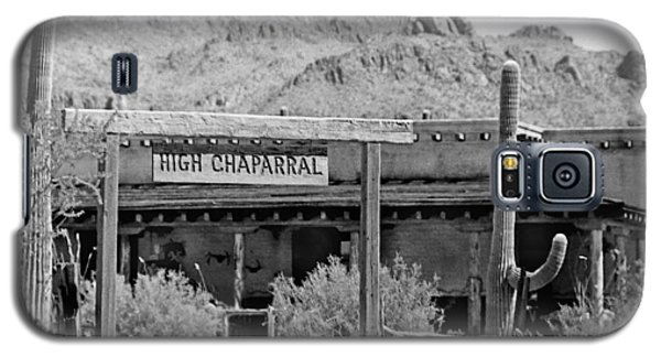 The High Chaparral Set With Sign Old Tucson Arizona 1969-2016 Galaxy S5 Case