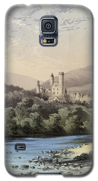 The Highland Home, Balmoral Castle Galaxy S5 Case by English School