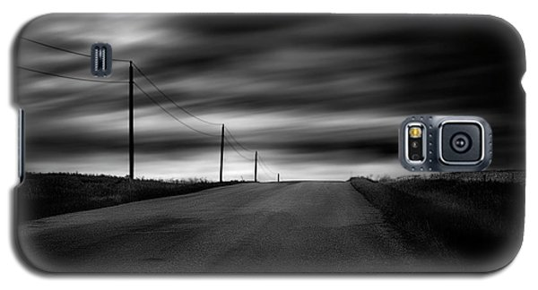Galaxy S5 Case featuring the photograph The Highway by Dan Jurak