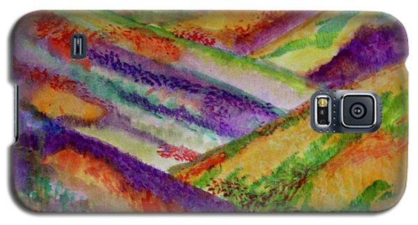 Galaxy S5 Case featuring the painting The Hills Are Alive by Kim Nelson