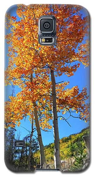 Galaxy S5 Case featuring the photograph The Hillside - Panorama by Shane Bechler