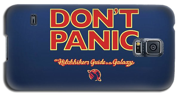 Design Galaxy S5 Case - The Hitchhiker's Guide To The Galaxy by Super Lovely