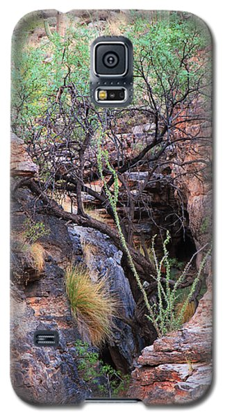 Galaxy S5 Case featuring the photograph The Hole - Mount Lemmon by Donna Greene