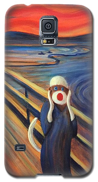Galaxy S5 Case featuring the painting The Holler by Randol Burns