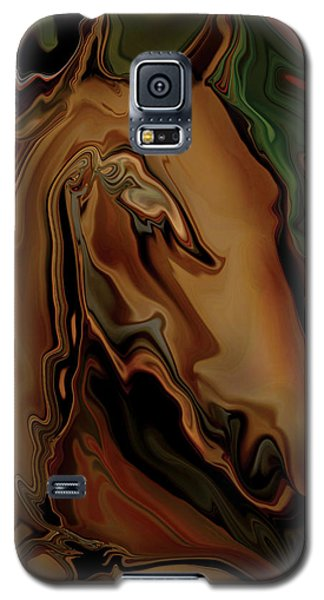 Galaxy S5 Case featuring the digital art The Horse by Rabi Khan