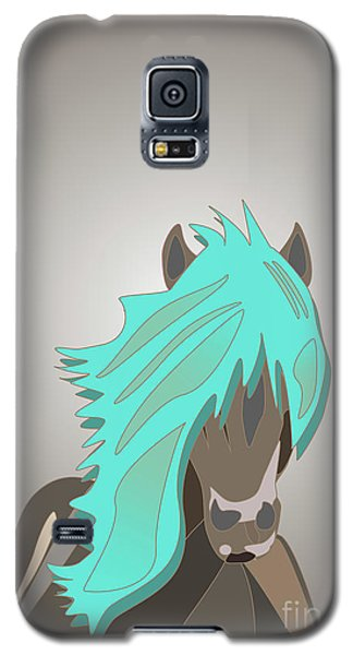 The Horse With The Turquoise Mane Galaxy S5 Case