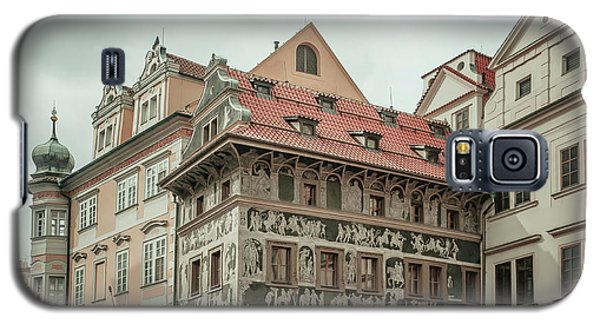 Galaxy S5 Case featuring the photograph The House At The Minute With Graffiti At Old Town Square  by Jenny Rainbow