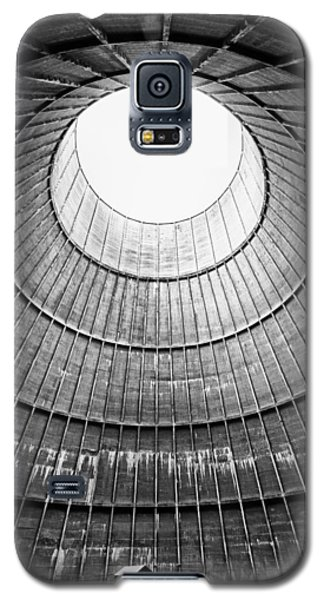 The House Inside The Cooling Tower - Industrial Decay Galaxy S5 Case by Dirk Ercken