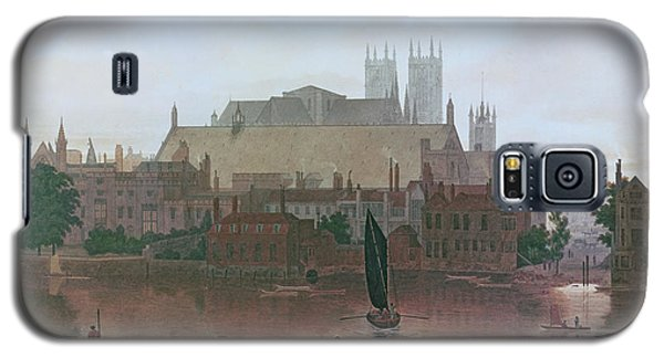 The Houses Of Parliament Galaxy S5 Case by George Fennel Robson