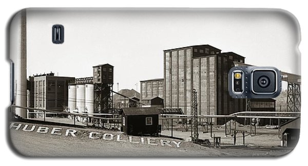 The Huber Colliery Ashley Pennsylvania 1953 Galaxy S5 Case