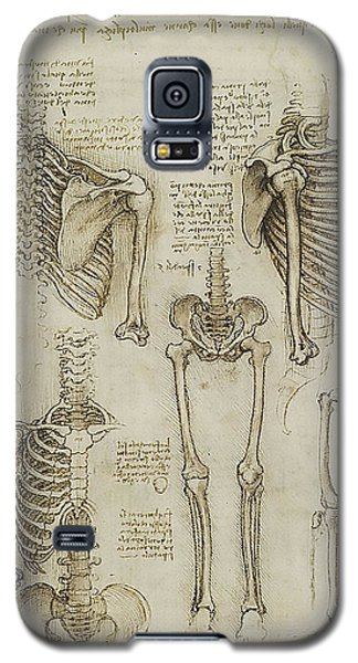 Galaxy S5 Case featuring the painting The Human Ribcage by James Christopher Hill