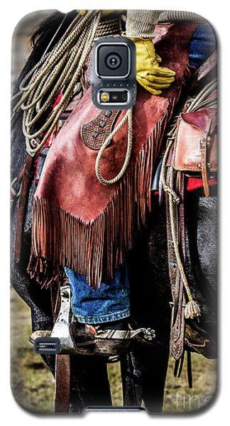 The Idaho Cowboy Western Art By Kaylyn Franks Galaxy S5 Case