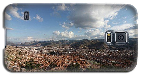 Galaxy S5 Case featuring the photograph The Inca Capital Of Cusco by Aidan Moran