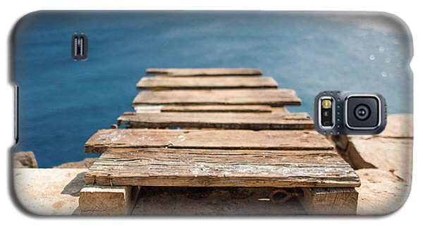 The Infinite Blue Galaxy S5 Case