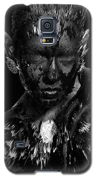 Galaxy S5 Case featuring the digital art The Inner Demons Coming Out by ISAW Company