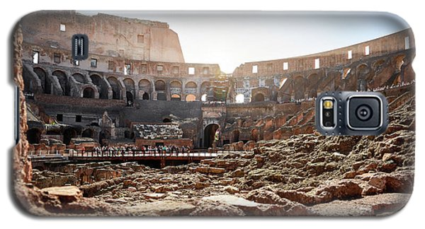 The Interior Of The Roman Coliseum Galaxy S5 Case