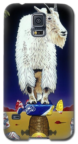The Intoxicated Mountain Goat Galaxy S5 Case