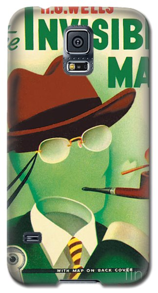 Galaxy S5 Case featuring the painting The Invisible Man by Gerald Gregg