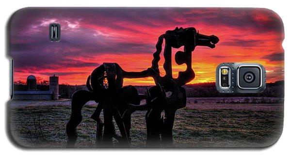 The Iron Horse Sun Up Galaxy S5 Case by Reid Callaway