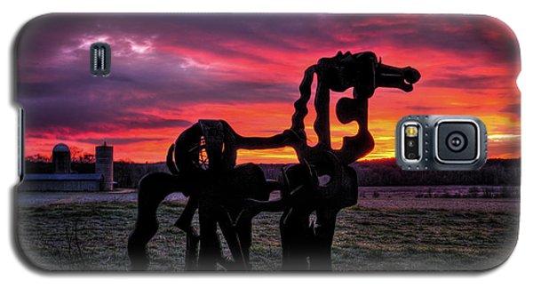 The Iron Horse Sun Up Art Galaxy S5 Case