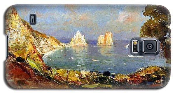 The Island Of Capri And The Faraglioni Galaxy S5 Case