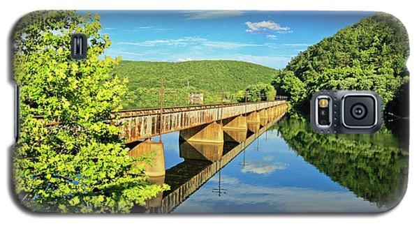The James River Trestle Bridge, Va Galaxy S5 Case