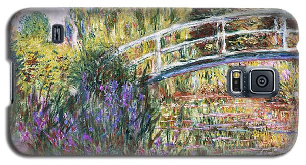 Architecture Galaxy S5 Case - The Japanese Bridge by Claude Monet