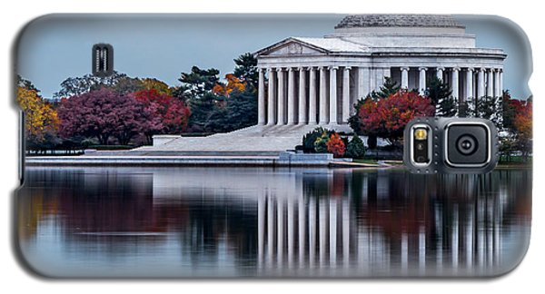 The Jefferson In Baby Blue Galaxy S5 Case