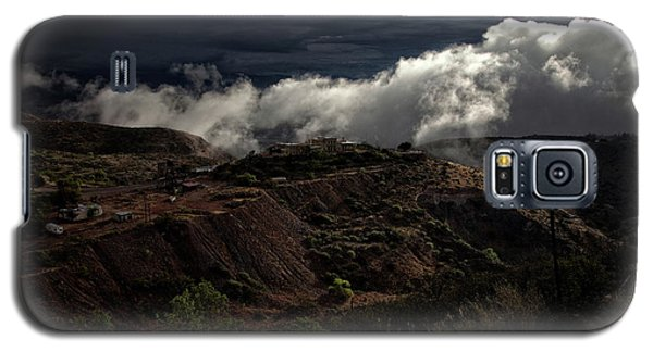 The Jerome State Park With Low Lying Clouds After Storm Galaxy S5 Case