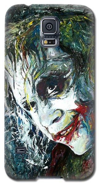 Heath Ledger Galaxy S5 Case - The Joker - Heath Ledger by Marcelo Neira