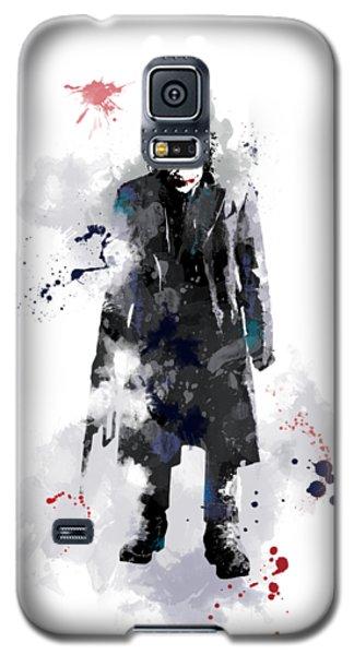 Heath Ledger Galaxy S5 Case - The Joker by Marlene Watson