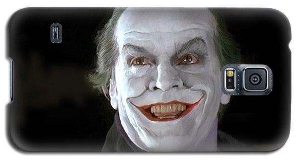 The Joker Galaxy S5 Case by Paul Tagliamonte