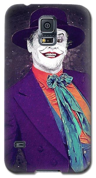 Heath Ledger Galaxy S5 Case - The Joker by Zapista