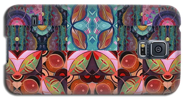 The Joy Of Design Mandala Series Puzzle 7 Arrangement 3 Galaxy S5 Case
