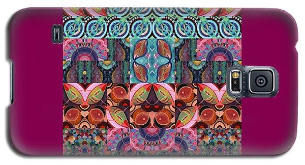 The Joy Of Design Mandala Series Puzzle 7 Arrangement 3 Galaxy S5 Case