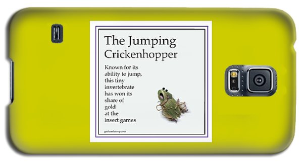 The Jumping Crickenhopper Galaxy S5 Case