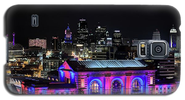 Galaxy S5 Case featuring the photograph The Kansas City Skyline by JC Findley