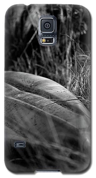 The Kayak In Black And White Galaxy S5 Case