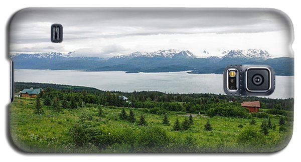 The Kenai Mountains In Homer Galaxy S5 Case