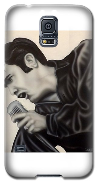 Galaxy S5 Case featuring the painting The King  by Darren Robinson