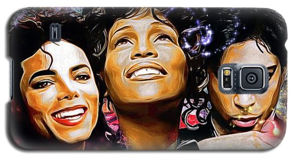 The King, The Queen And The Prince Galaxy S5 Case by Daniel Janda