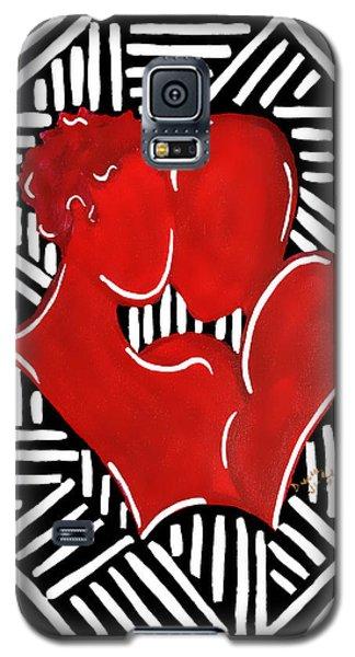 The Kiss Galaxy S5 Case by Diamin Nicole