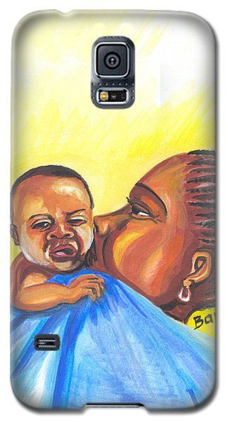 The Kiss Of A Mother In Senegal Galaxy S5 Case by Emmanuel Baliyanga