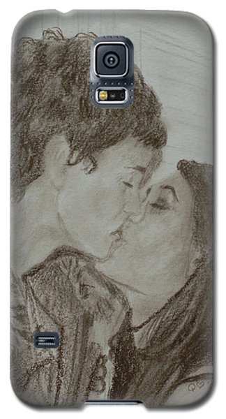 The Kiss Galaxy S5 Case by Quwatha Valentine