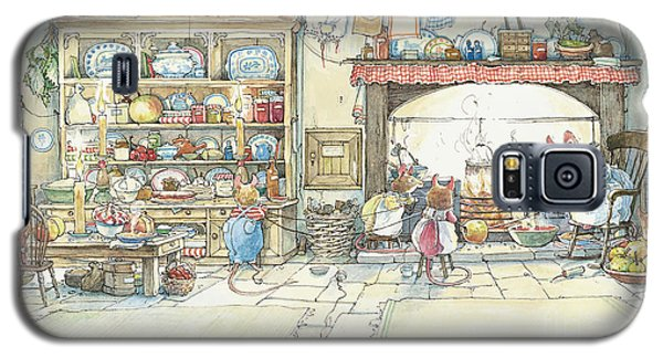 Apple Galaxy S5 Case - The Kitchen At Crabapple Cottage by Brambly Hedge