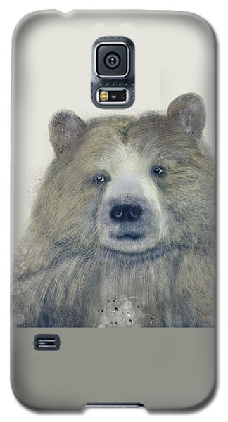Galaxy S5 Case featuring the painting The Kodiak Bear by Bri B