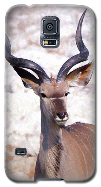The Kudu Portrait 2 Galaxy S5 Case by Ernie Echols